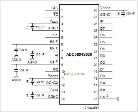 ADC0804S030 circuits