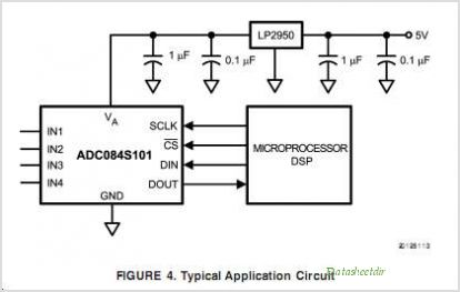 ADC084S101 circuits