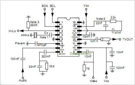 MC44BC374T1 circuits