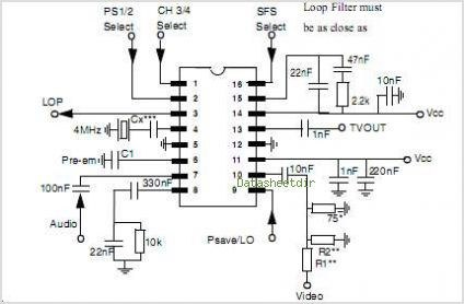 MC44BC375 circuits