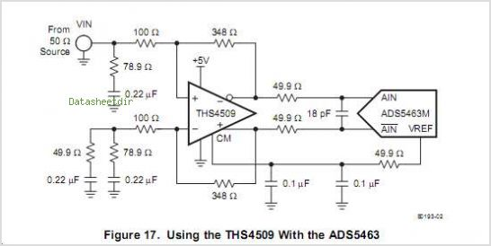 ADS5463-SP circuits