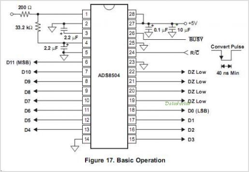 ADS8504IBDWG4 circuits
