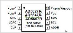 AD5647R pinout,Pin out