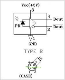 PT-73310B-XT pinout,Pin out