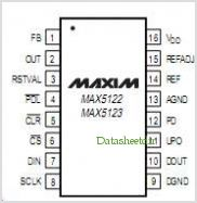 MAX5122 pinout,Pin out
