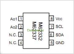 M62332P pinout,Pin out