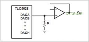 TLC5628 circuits