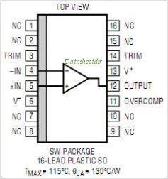 LT1115CN8-PBF pinout,Pin out