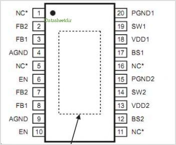 MP7782 pinout,Pin out