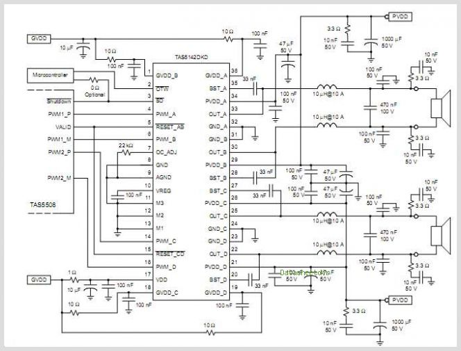 car audio amplifier circuits an circuit required to pictures