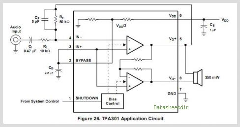 TPA301DGNRG4 circuits
