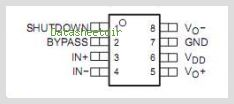 TPA731 pinout,Pin out