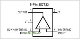 LMC7101 pinout,Pin out