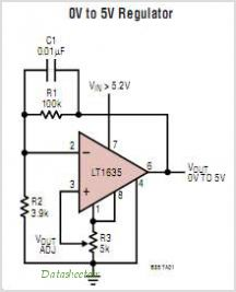 LT1635 circuits