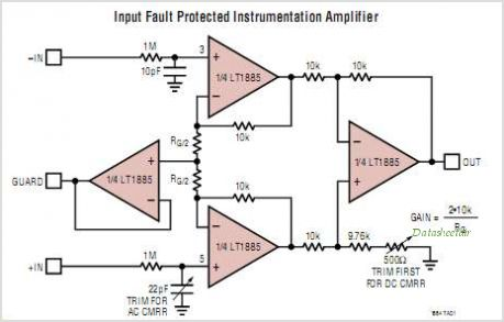 LT1884CS8-PBF circuits