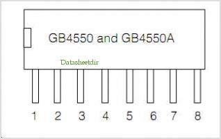 GB4550 pinout,Pin out
