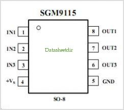 SGM9115 pinout,Pin out