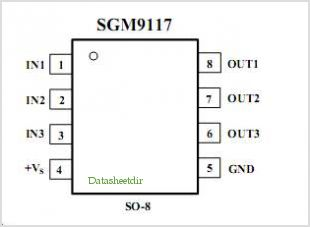 SGM9117 pinout,Pin out