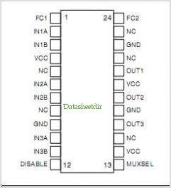 SM5307A pinout,Pin out