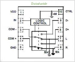 Isl54207irz t datasheet pinout application circuits low voltage isl54207irz t circuits sciox Image collections