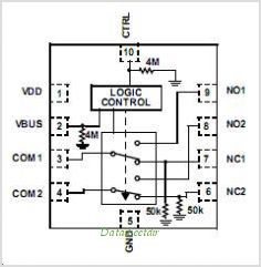 Isl54207irz t datasheet pinout application circuits low voltage isl54207irz t pinoutpin out sciox Image collections