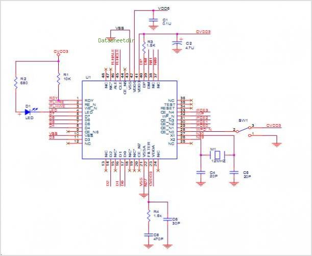 DS-TMU3110MS circuits