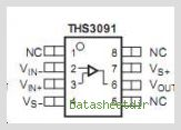 THS3091 pinout,Pin out