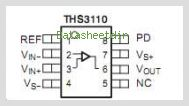 THS3110IDG4 pinout,Pin out