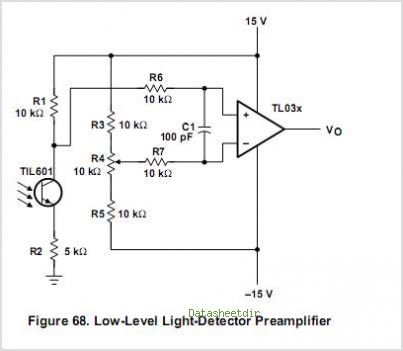 TL034AMD circuits