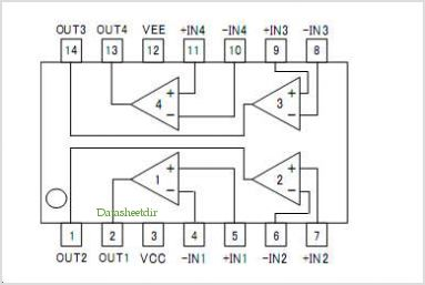 BA2901HFV-C pinout,Pin out