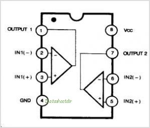 LM393 pinout,Pin out
