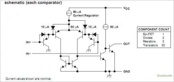 LM2903P circuits