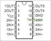 LM339N pinout,Pin out