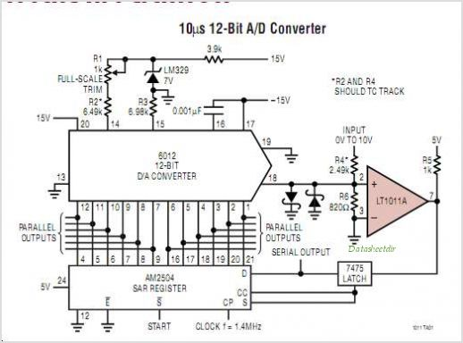 LT1011IS8-PBF circuits