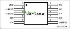 LM710CH pinout,Pin out