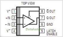 LT1016CN8 pinout,Pin out