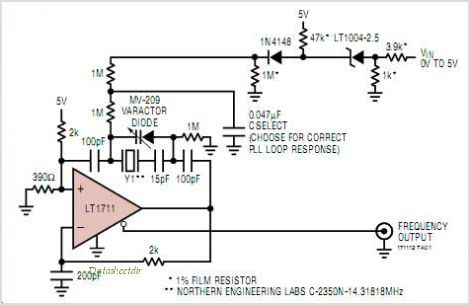 LT1712IGN-PBF circuits