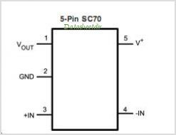 LMV7291 pinout,Pin out