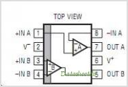 LT1017CS8 pinout,Pin out