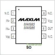 MAX986 pinout,Pin out