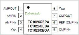 TC1026 pinout,Pin out