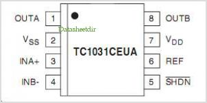 TC1028 pinout,Pin out