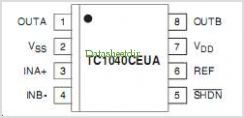 TC1040 pinout,Pin out