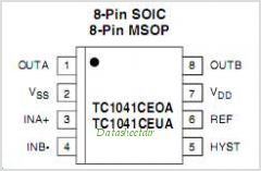 TC1041 pinout,Pin out