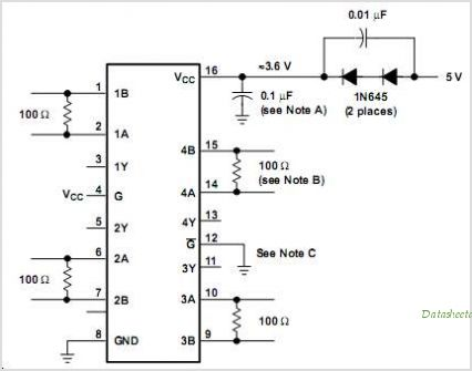 SN65LVDT34 circuits