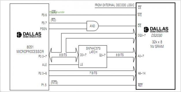 DS2030Y circuits
