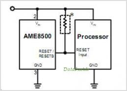 AME8500BEETCA21L circuits