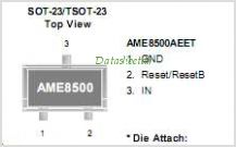 AME8500BEFTAF40 pinout,Pin out