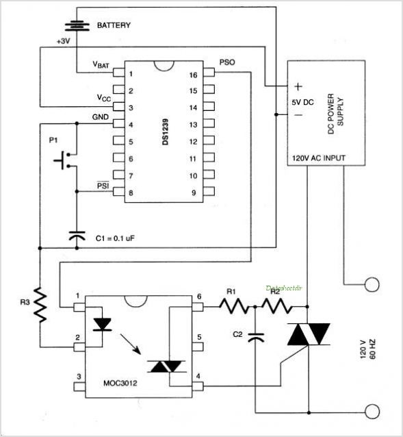 DS1239 circuits