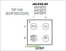 MAX16072 pinout,Pin out